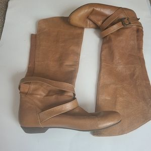 Chinese Laundry Fawn Brown Riding Boots 7
